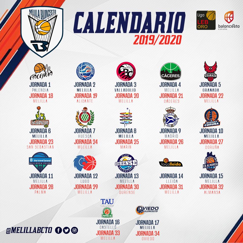 Leb Oro Calendario.Club Melilla Baloncesto